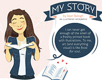 MY STORY / How I Became An Illustrator - Jean Balogh