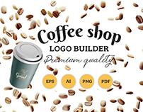 Coffee shop - Logo builder