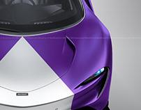 McLaren Speedtail Purple Night