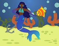 Mermaid - Vectorial Illustration