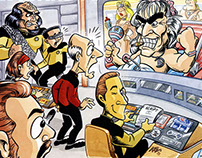 Starlog Magazine Illustrations