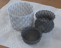 How to create wicker baskets in 3dsMax