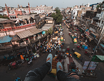 Old Delhi Rooftopping