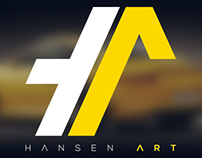 Hansen ART // Logo redesign