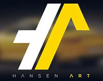 Hansen ART // Logo redesign