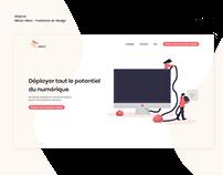 Stepi.co - Design web