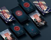 UI/UX design - Parking Place