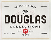 THE DOUGLAS COLLECTIONS (FONT BUNDLE)
