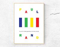 poster design | paul rand
