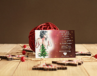 Christmas card for Koutis Jewellery