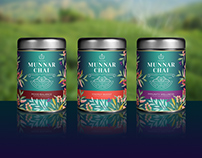 Munnar Chai - Branding, Packaging & Ecommerce