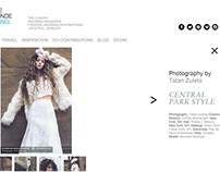 Winter white - Editorial for Weddingstylemagazine.com