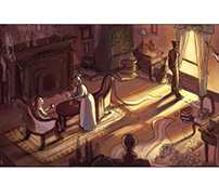Sherlock Holmes comic pages