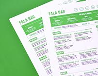 Fala Bar Restaurant Branding