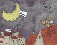 """Childrens book """"Det er Luna"""""""