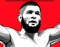 Khabib Nurmagomedov (UFC229 CHAMPION)