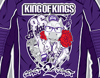 King Of Kings Jacket Canvas Print