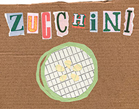 Zucchini - Illustrations and images for poster design