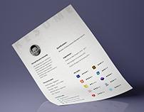 Free Resume 2018 For Web Designer