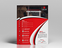 This is a Corporate Flyer. This template download conta