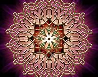 Golden Celtic Emblem