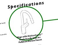 Moen Specification Sheets