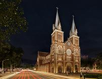 Notre Dame Saigon - Lighting Design