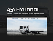Creating a landing page for official Hyundai dealer