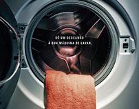 5 a Sec. Dê um descanso à sua máquina de lavar.
