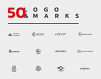 50 logo & marks