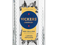 Illustration for Vicker's Gin
