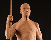 Standing Figure Sculpture