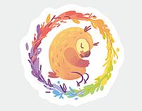 Owl stickers | Стикерпак для Telegram