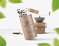 Köy kahvesi kurumsal marka çalışması.
