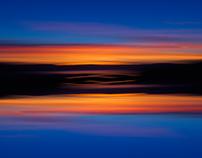 Sunset over Trondheim