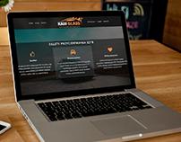 Strona WWW firmy Kam Glass