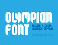 GNF Olympian font