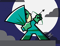 Arrow cartoon