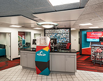 Environmental Graphic Design: Commonwealth Credit Union