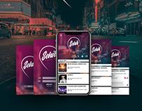 Şehir Etkinlikleri App UX