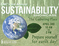 Sustainability Showcase marketing materials