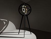 CERES - floor lamp by Mattia Frignani Interior Design