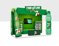3D Stall Design for 7up