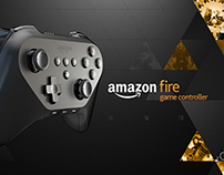 Amazon FireTV Game Controller detail page video.