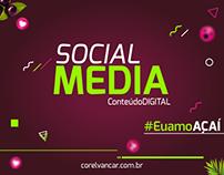 KIT Social Media, Açaí para campanhas em redes sociais