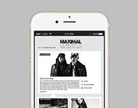 Maximal Concepts E-mail Design