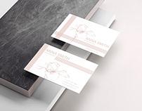 Feminine Minimalist Business Card Template