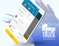 Mobile App UI/UX and Web Design for Gogo Truck