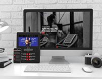 Envizion 24/7 Fitness- Website Design & Development