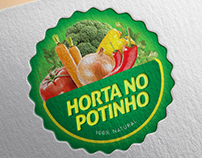 Logo Horta no Potinho